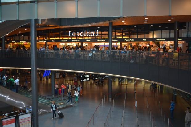 Zurich airport - food