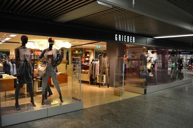 Grieder Shop Zurich Airport