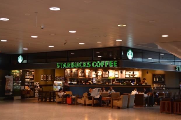 Старбакс аэропорт Цюрих