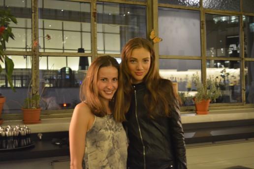 С победительницей  Johanna Brendow