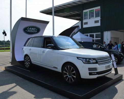 Land Rover White