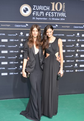 Swiss models Ronja Furrer, Anja Leuenberger