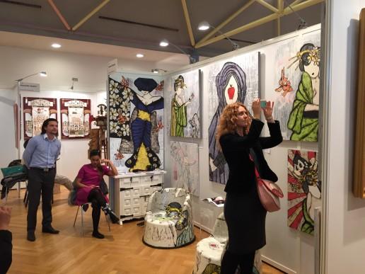 Международная ярмарка современного искусства Цюрих