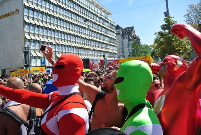 Street Parade Zurich 2015