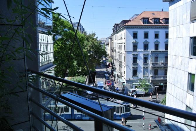 Hiltl Rooftop/Dachterrasse