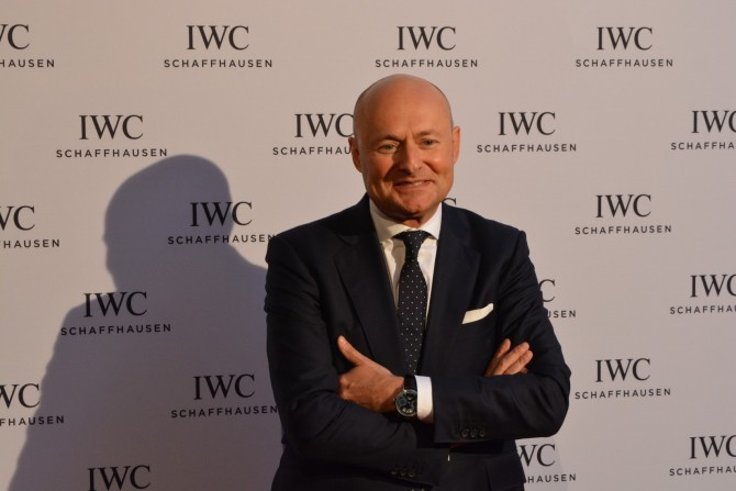 Georges Kern - CEO of IWC Watches