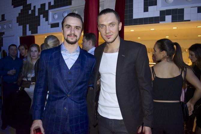 Fedor Klimov with Maxim Trankov