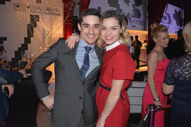 Adelina Sotnikova with Javier Ferdandez