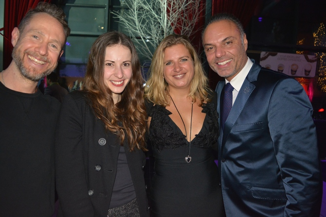 Jessie J's tour manager Cez Darke & the CEO of Art On Ice Oliver Höner