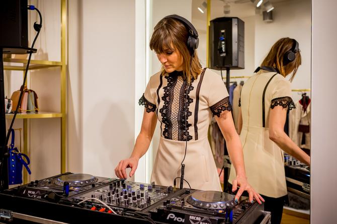 Swiss DJ & TV moderator Annina Frey