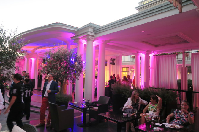 rive gauche summer party