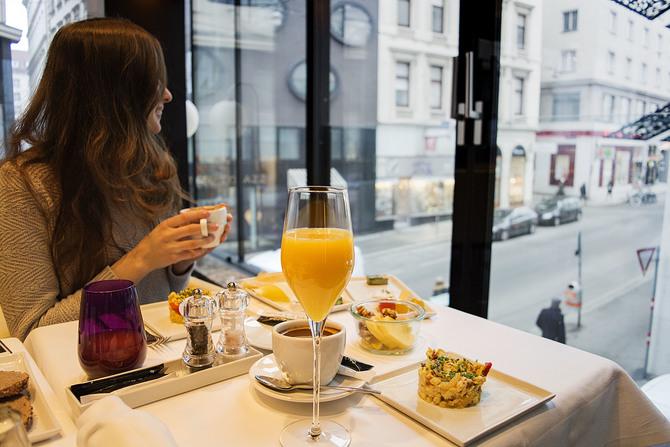Hotel Lamée breakfast
