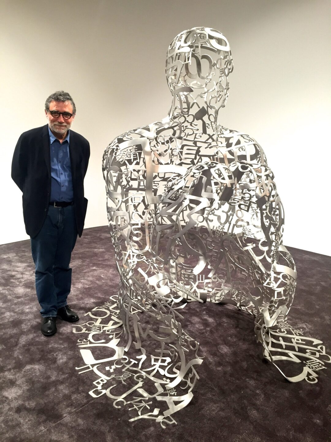Jaume Plensa & His Sculpture for Ruinart Champagne