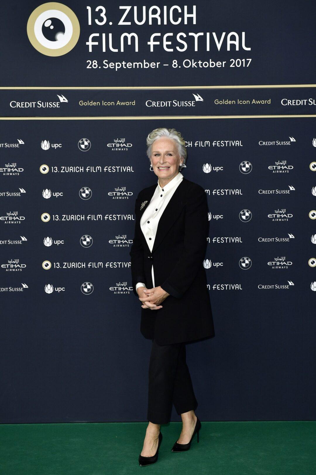 Glenn Close Zurich Film Festival